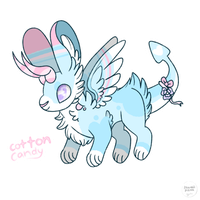 (CS) Cotton Candy Miuyai Auction (CLOSED) by kawaiipicnic