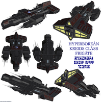 Hyperborean Kreios Frigate by Chiletrek