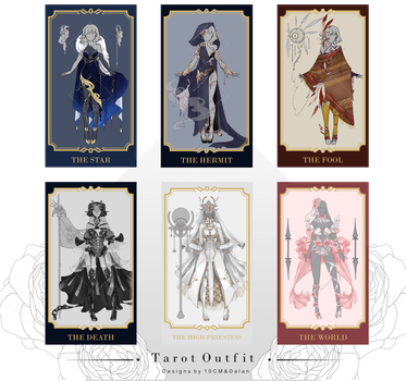 Set price : TAROT OUTFIT [CLOSE] by Popza10CM