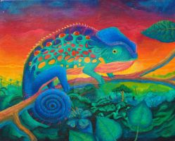 Melons The Chameleon by vicktour
