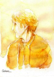 A Study in Watercolor - Mrs Hudson by Gohush
