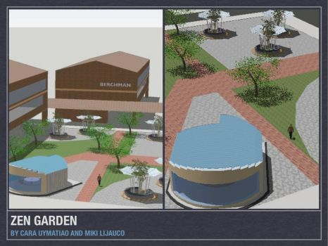 Ateneo Redesign Project: Zen G by carauy