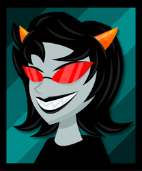 Homestuck: Terezi by LegendaryFrog