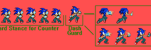 Sonic Custom Sprites: Change The Future by pokeczarelf