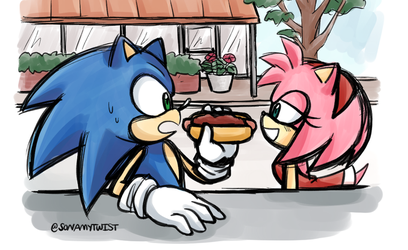 Let's eat together by sonamytwist