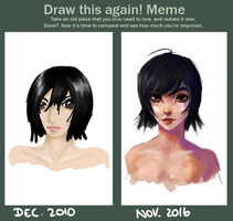 Draw this again - 2010 vs. 2016 by Enigmasystem