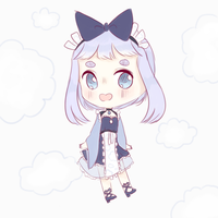 150pt SB ! cloud maid adopt auction (CLOSED) by domimu