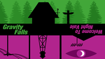 Welcome To Gravity Falls (Wallpaper Version) by NocteDesign