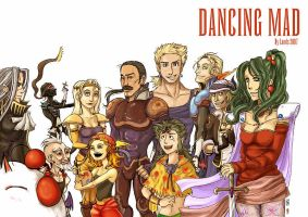 FFVI - Dancing Mad collab by karrey