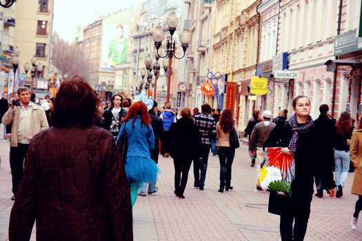 Arbat street by CrazyDD
