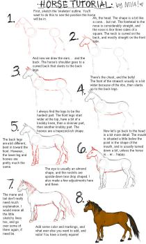 VERY basic horse tutorial by IceandSnow