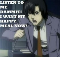 Matsuda wants his Happy Meal by TamagotchiMONSTER