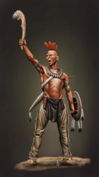 Pawnee Warrior by sandu61