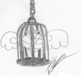 Caged Heart by TheStrawberryWitch