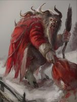 Krampus by A-Stas