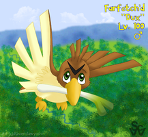 My Elite: Farfetch'd by ravenclawyoshi