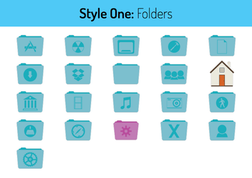 Style One Folders by hamzasaleem