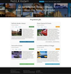 Site preview - travel agency by Kanuka76