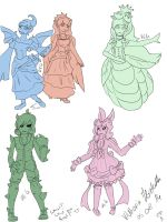 Look at all the Ladies~ by ButlerVicki