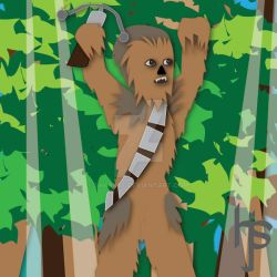 #29 Chewbacca by SH4RK3Y