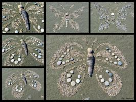 Stone butterfly from Hungary by Tamas Kanya by tom-tom1969