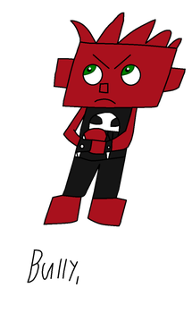 My IO oc's Bully by NickEinsteins4Life