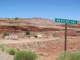 The Town of Mexican Hat by RozenGT
