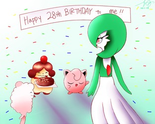 Happy 28th Birthday to Me! by 7colors0