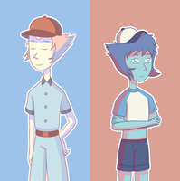 Earl and Bob by froste-art