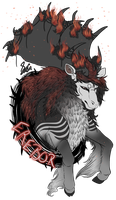 Art Payment for Wolf-Sisi by SavannaEGoth