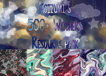 [ 500+ Watchers ] Resource Pack! by lKoizumil