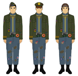 Fallout New Vegas - Boomer Jumpsuits by FinerSkydiver