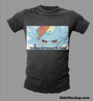 Rainbow Dash T-Shirt Idea 2 by alexsalinasiii