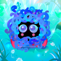 pokemon: Tangela by kuroi-onee