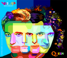 Queen in WPAP by viqh