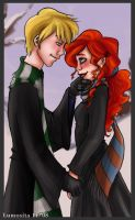 Winter Rose and Scorpius by Lumosita