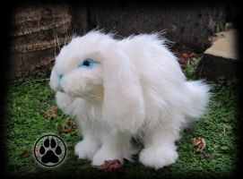 SOLD Mini lop bunny commission. by CreaturesofNat