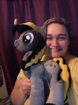 more of my plushy by PaintedPatience