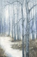 Snowy Wood by LG-Young