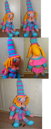 Black Magician Girl plushie by Crystal-Dream