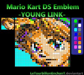 Mario Kart DS Emblem : -YOUNG LINK- by LeTourbillonEnchanT