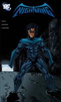Nightwing mock up cover by Salvador-Raga