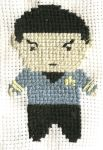 Cross Stitched Spock by Demichka