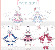 [closed] Outfit Adoptable | Set Price by Black-Quose