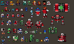 Smash shot project: Some designs. by Zeh1999
