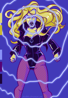 Palette challenge. Black Canary by AkEshiba