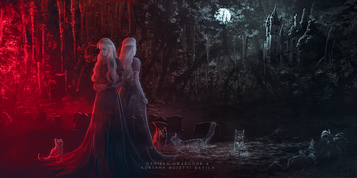 The Twins - Ghost Stories by adrianamusettidavila