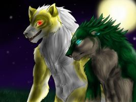 Werewolves on the Prowl by MephilesTheCute09