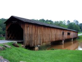 Watson Mill Bridge by RahlaWolf