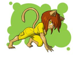 She Woman Cat Type Thing by tansau